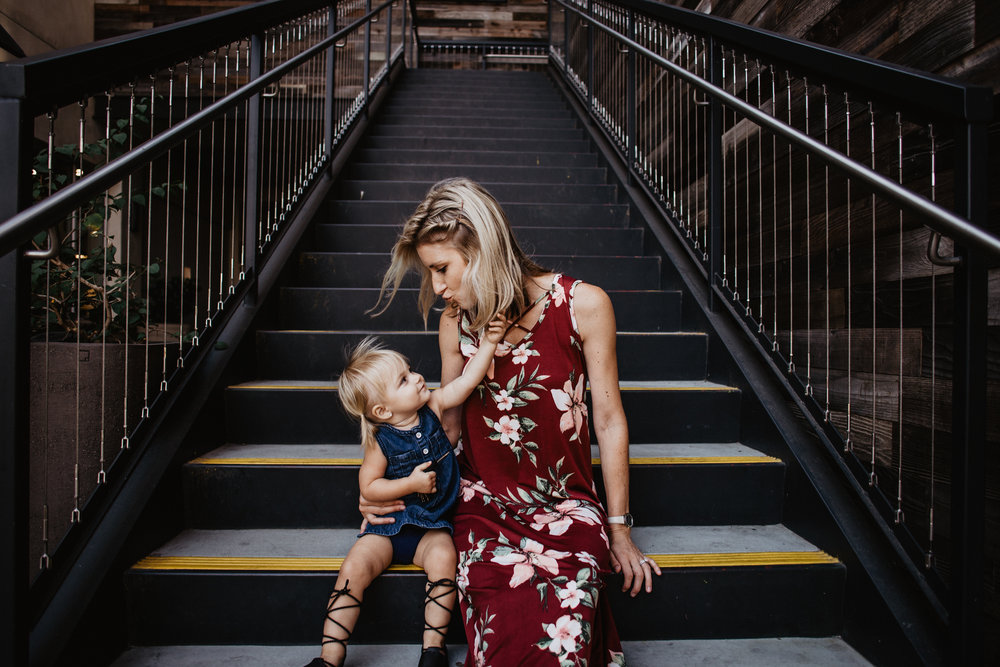 Maternity Fashion - PinkBlush - Fall Fashion | Maroon Floral Maternity Maxi