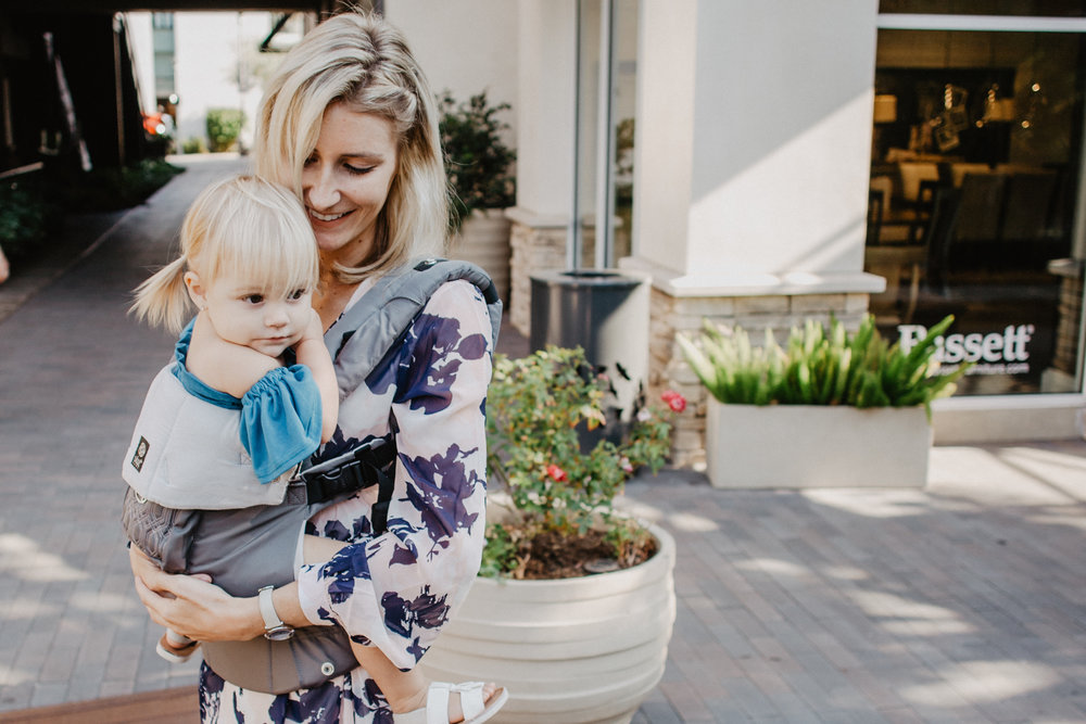 The secret to shopping with a toddler -- The Best Baby Carries with back Support The Best Sling Baby Carriers LILLEbaby