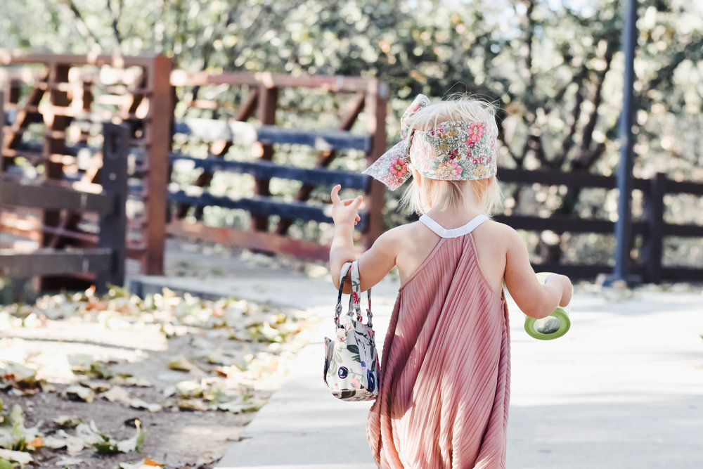 Matching Kids + Baby Doll Romper - Blush Kids Romper - Kids Fall Fashion Guide - Vintage Vibes Kids