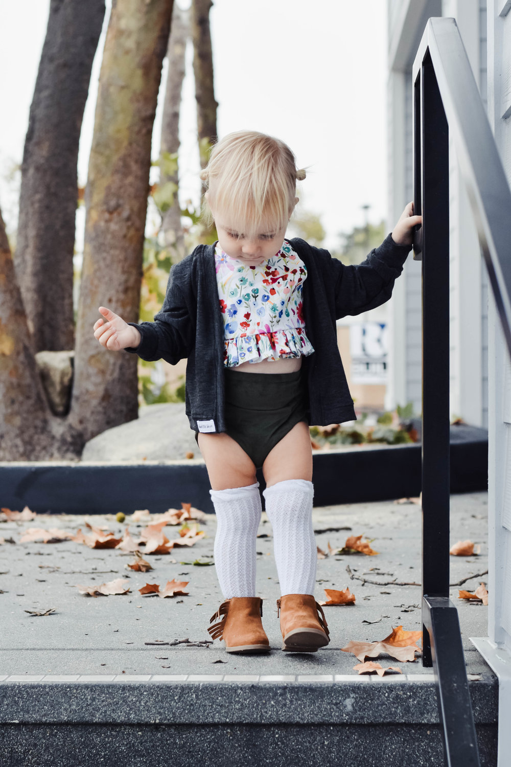 Kids Fall Fashion Guide | Sweet Little Skye - Baby High Waisted Bloomers, Baby Crop Tops, Baby Cardigans