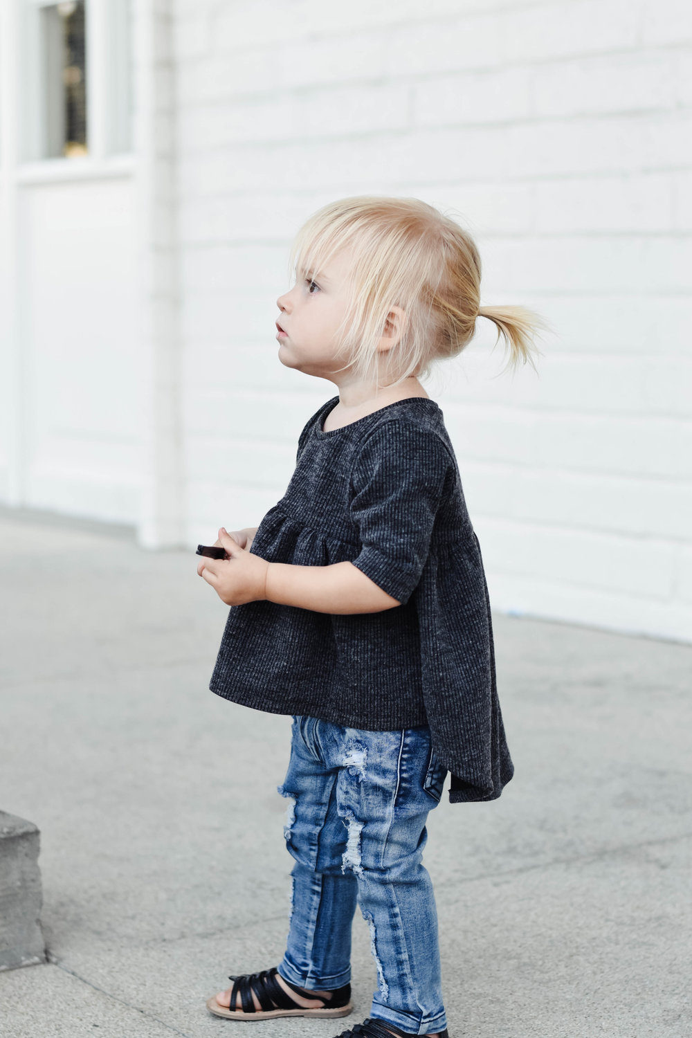 Kids Baby Ripped Jeans - Distressed Denim - Kids Fall Fashion Guide | Raxtin Clothing Co