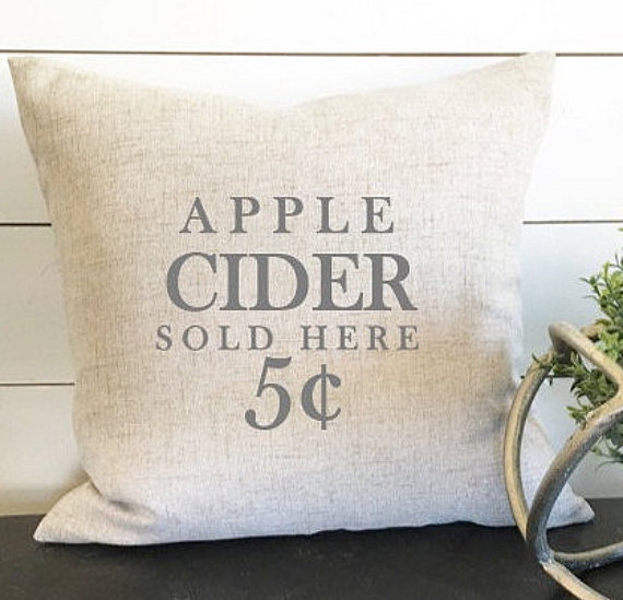 Cute Fall Pillows - Fall Home Decor