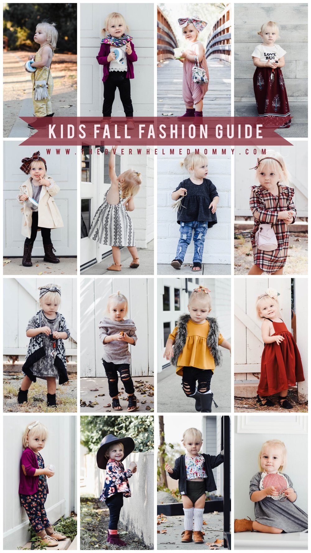 Cute Fall Kids Clothes- 2017 Kids Fall Fashion Guide