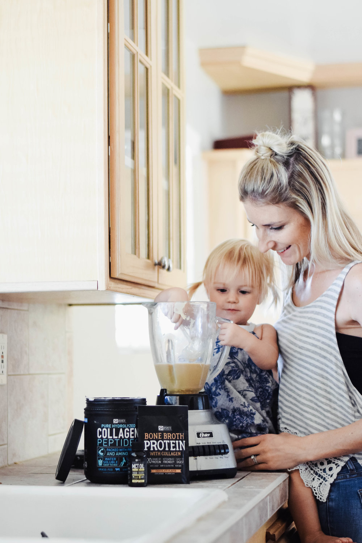 Easy, Quick + Healthy Morning Shake Recipe