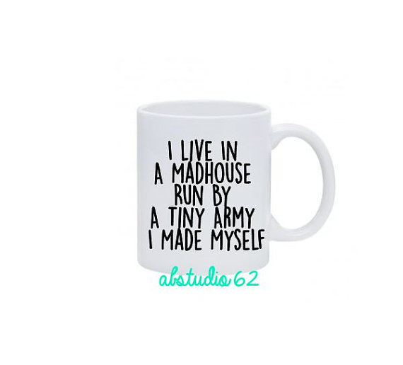 Funny Coffee Mugs for Moms - Mom Gift Ideas -- Mommy Blogger-The Overwhelmed Mommy