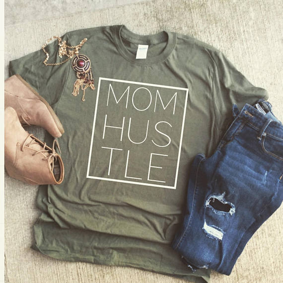 Funny Mom Shirts - Cute Mom Tanks-Tees - Mommy Blogger-The OverwhelmedMommy