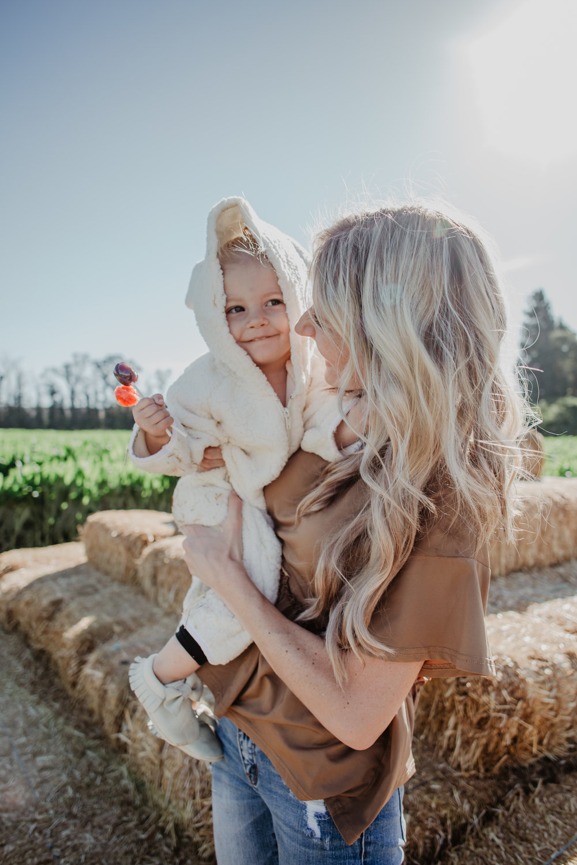 Kids-Baby Halloween Costume Ideas - Baby Bear Costume - Mommy Blogger/Vlogger -- The Overwhelmed Mommy