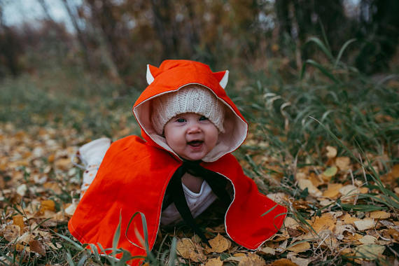 Kids-Baby Halloween Costume Ideas - Baby Fox Costume - Mommy Blogger-Vlogger -- The Overwhelmed Mommy