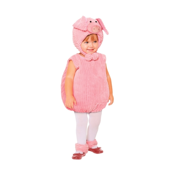 Kids-Baby Halloween Costume Ideas - Baby pig Costume - Mommy Blogger-Vlogger -- The Overwhelmed Mommy