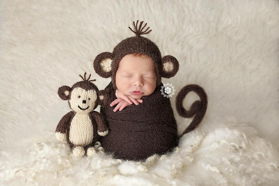 Kids-Baby Halloween Costume Ideas - Baby Monkey Costume - Mommy Blogger-Vlogger -- The Overwhelmed Mommy