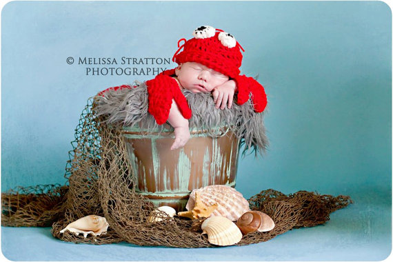Kids-Baby Halloween Costume Ideas - Baby Lobster Costume - Mommy Blogger-Vlogger -- The Overwhelmed Mommy