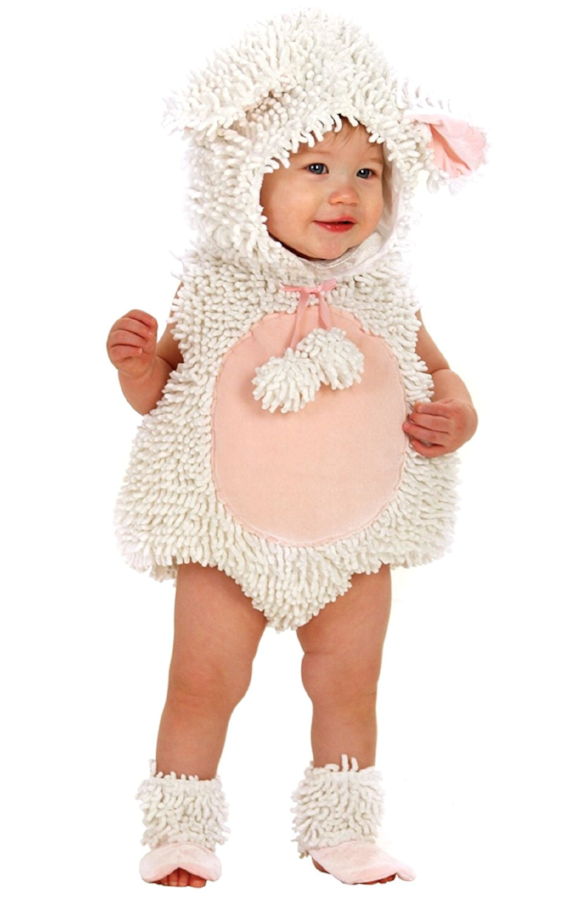 Kids-Baby Halloween Costume Ideas - Baby Lamb Costume - Mommy Blogger-Vlogger -- The Overwhelmed Mommy