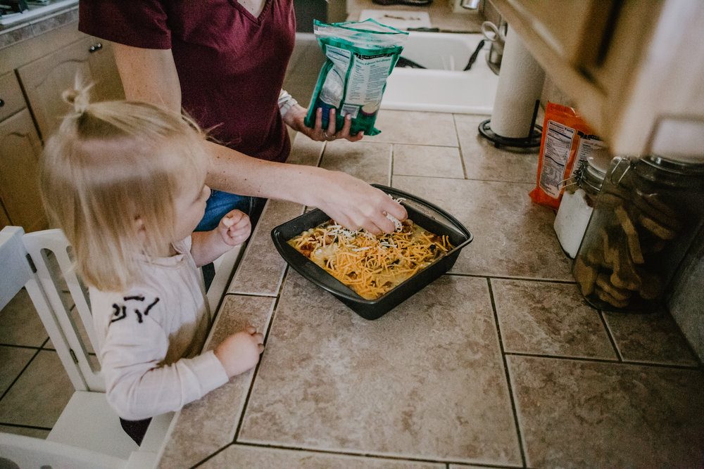 Hearty Egg Casserole Recipe - Scotch-Brite® Scrub Dots Sponges Coupons - Best Sponges for Food Dried on Pans -- Mommy Blogger-Vlogger -- The Overwhelmed Mommy