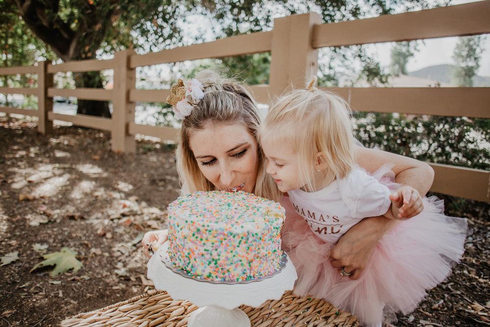 My 28th Birthday Cake Smash Mommy Blogger Vlogger The Overwhelmed