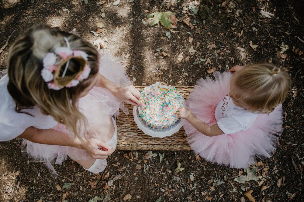 My 28th Birthday Cake Smash -- Mommy Blogger-Vlogger -- The Overwhelmed Mommy