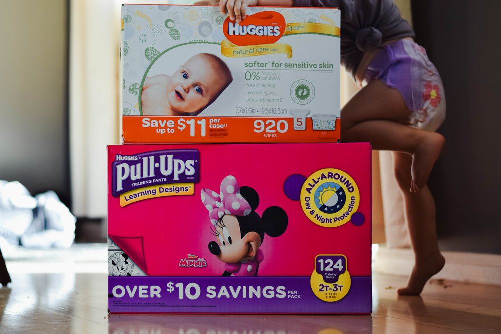 Tips For Potty Training - Huggies Pull-Ups - Sam's Club Diaper Deals -- Mommy Blogger-Vlogger -- The Overwhelmed Mommy
