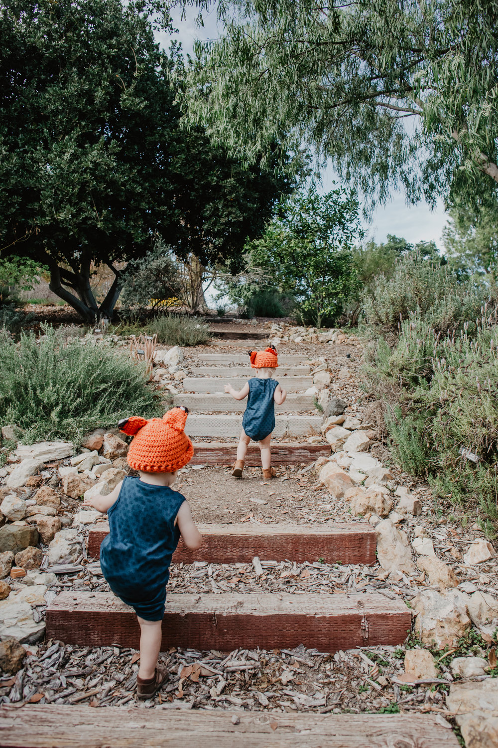 Baby Fox Beanies - Knit Kids Fox Hat - Baby Halloween Costume Ideas -- Mommy Blogger-Vlogger-The Overwhelmed Mommy