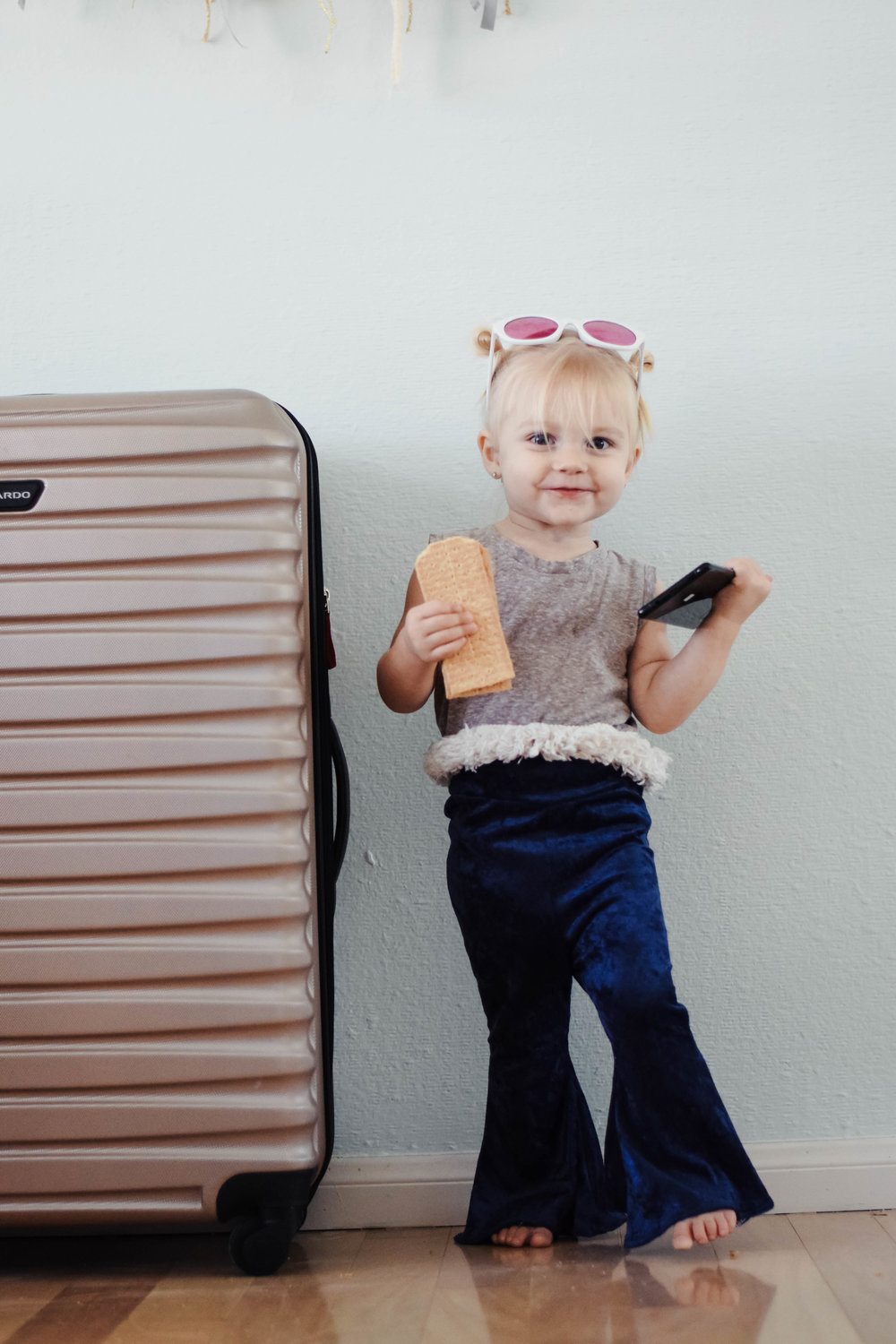Tips for Holiday Traveling with A Toddler -- Mommy Blogger-Vlogger -- The Overwhelmed Mommy