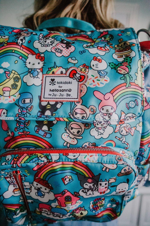 Rainbow Dreams Be Sporty - JuJuBe x Tokidoki - Mommy Blogger-Vlogger - The Overwhelmed Mommy