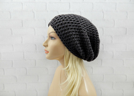 Women's Pom Pom Beanie - Women's Slouch Beanie -- Mommy Blogger-Vlogger - The Overwhelmed Mommy