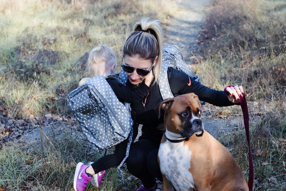 Ju-Ju-Be Dot Dot Dot Mini Be - Diaper Bag Backpack -- Mommy Blogger-Vlogger - The Overwhelmed Mommy