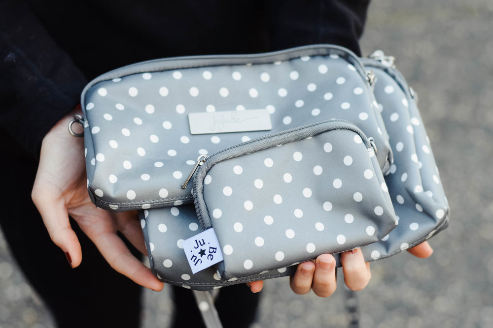 Ju-Ju-Be Dot Dot Dot Be Set - Diaper Bag Backpack -- Mommy Blogger-Vlogger - The Overwhelmed Mommy