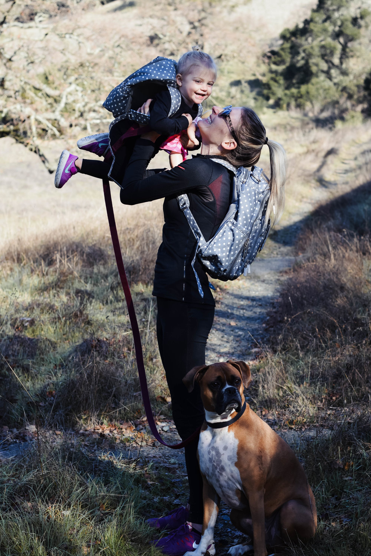 Ju-Ju-Be Dot Dot Dot Be Right Back + Mini Be - Diaper Bag Backpack -- Mommy Blogger-Vlogger - The Overwhelmed Mommy
