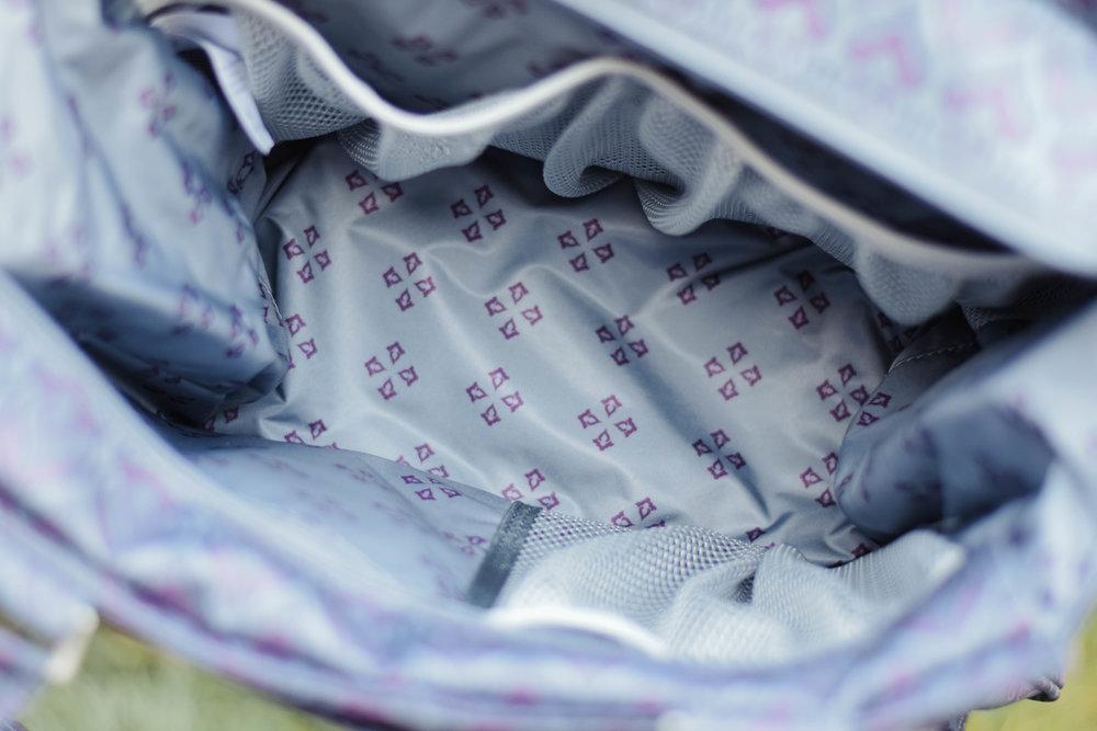 Ju-Ju-Be Dot Dot Dot - Ju-Ju-Be Amethyst Ice- Diaper Bag Backpack -- Mommy Blogger-Vlogger - The Overwhelmed Mommy