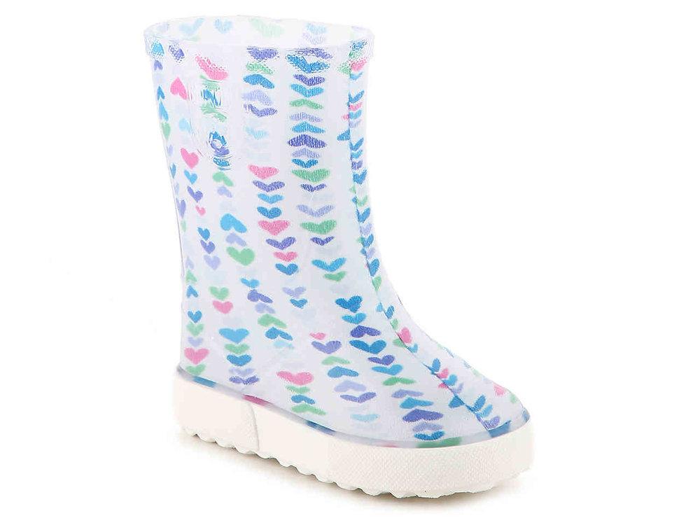 Cute Kids-Toddler Rain Boots -- Mommy Blogger-Vlogger - The Overwhelmed Mommy