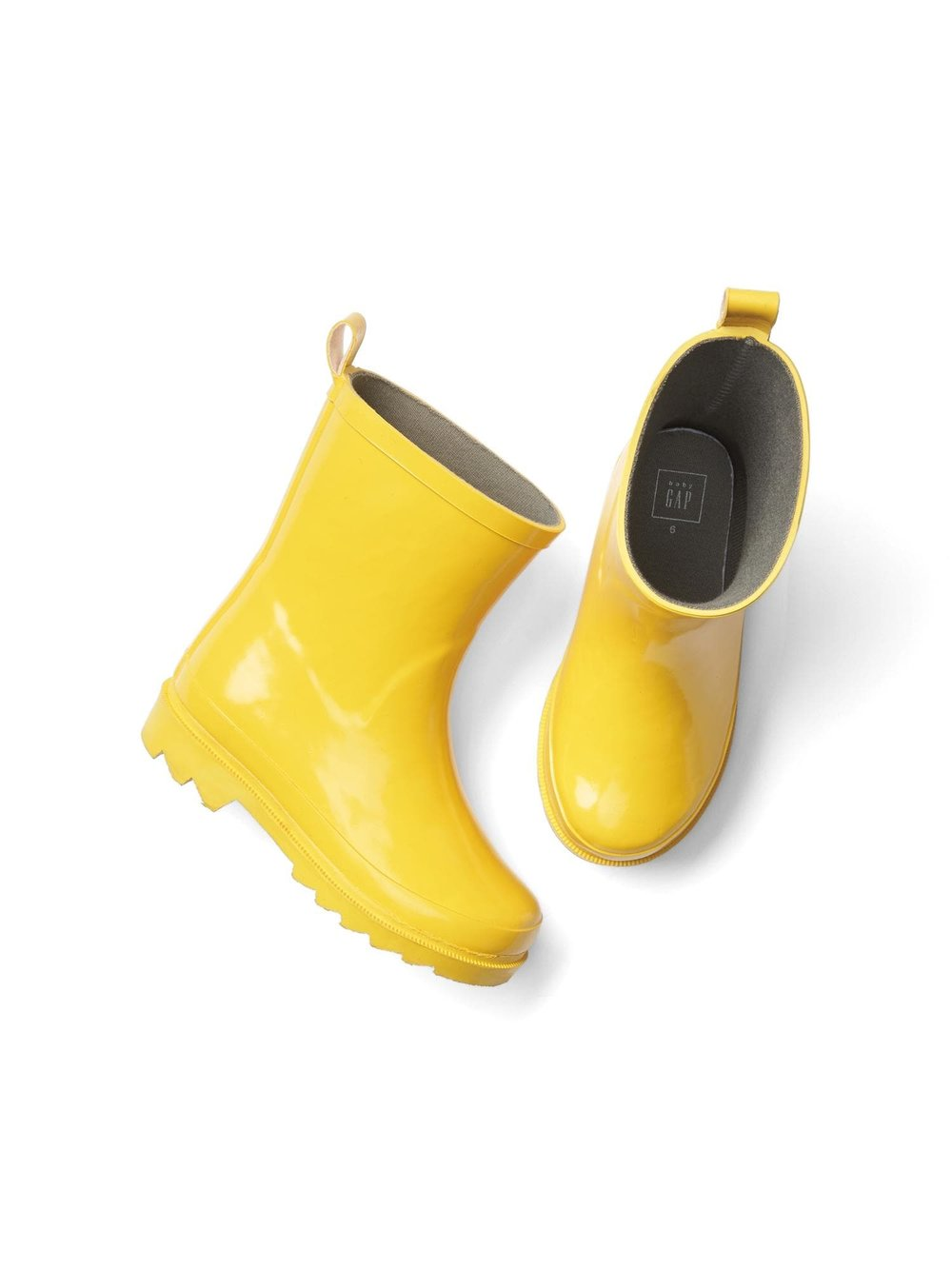 Cute Kids-Toddler Yellow Rain Boots -- Mommy Blogger-Vlogger - The Overwhelmed Mommy