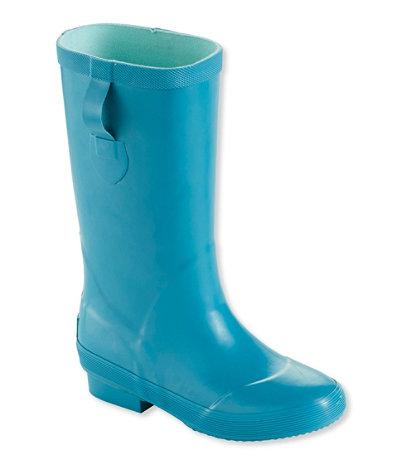 Cute Kids-Toddler Blue Rain Boots -- Mommy Blogger-Vlogger - The Overwhelmed Mommy
