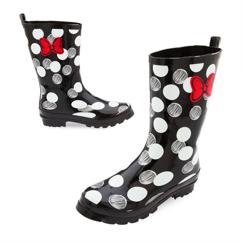 Cute Kids-Toddler Minnie Mouse Disney Rain Boots -- Mommy Blogger-Vlogger - The Overwhelmed Mommy