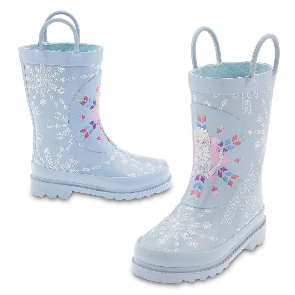 Cute Kids-Toddler Disney Frozen Rain Boots -- Mommy Blogger-Vlogger - The Overwhelmed Mommy