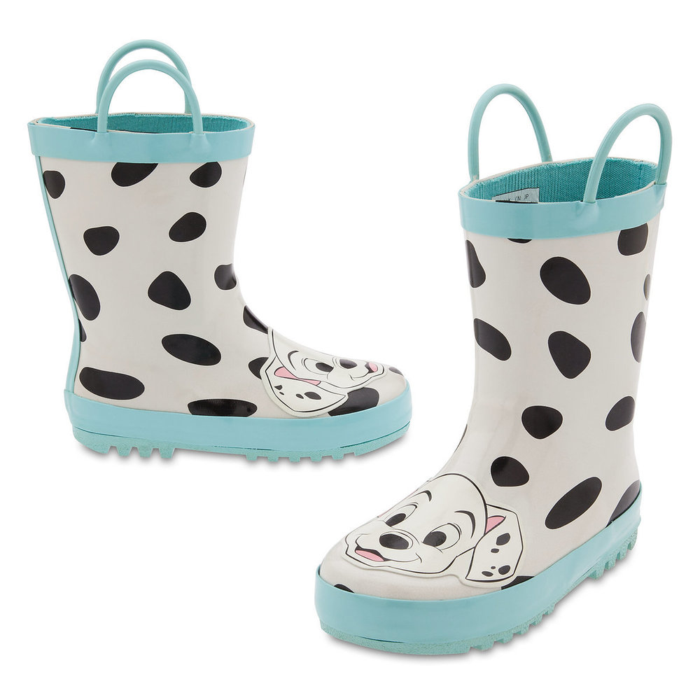 Cute Kids-Toddler Disney Dalmations Rain Boots -- Mommy Blogger-Vlogger - The Overwhelmed Mommy