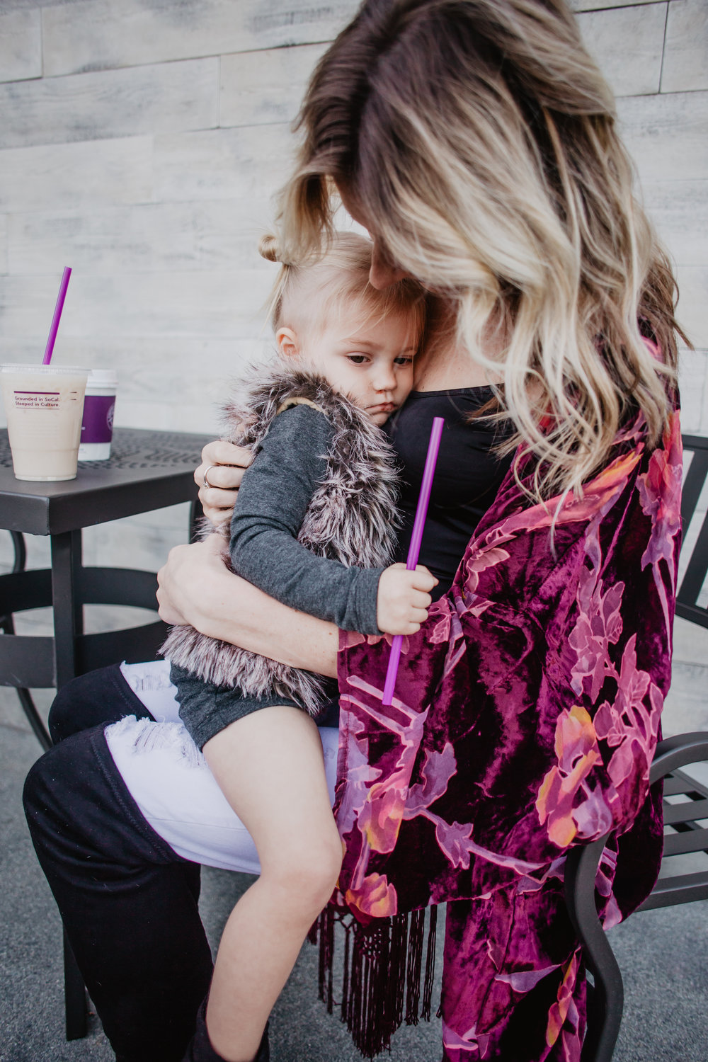Baby-Kids Fur Vest Black Women's Feather Skirt - My 5 Favorite Mama Fashion Trends -- Mommy Fashion Blogger-Vlogger -- The Overwhelmed Mommy