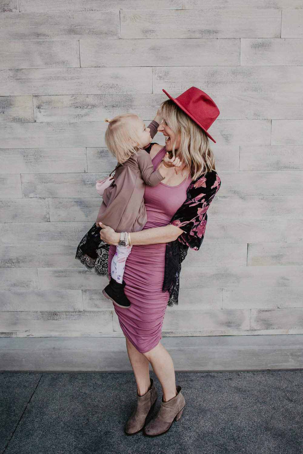 Valentine's Day Dresses for Moms + Kids -- Mommy Blogger-Vlogger - The Overwhelmed Mommy