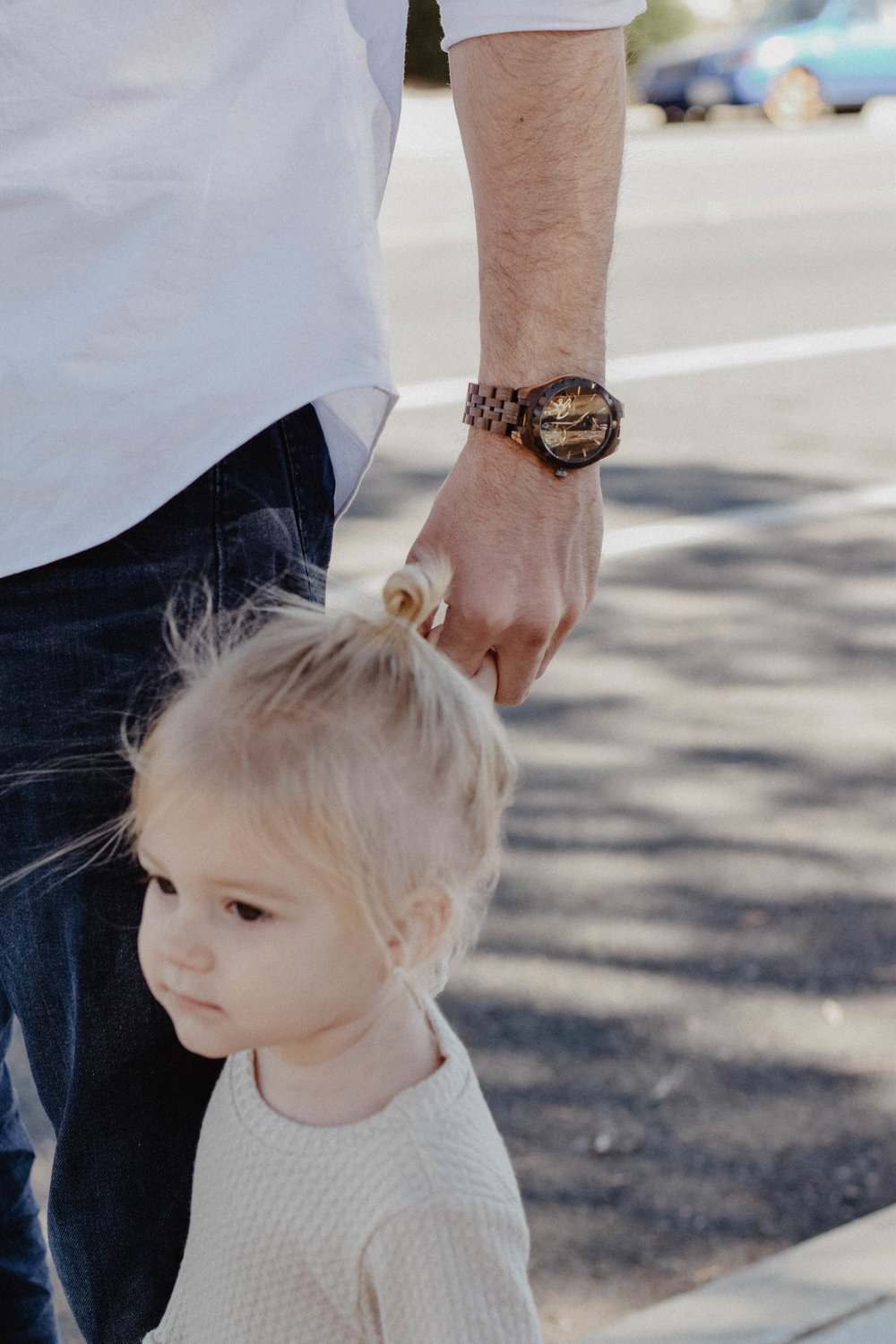 Engraved Wooden Watches for Men - Valentine's Day Gift Ideas for Dads -- The Overwhelmed Mommy - Mommy Blogger