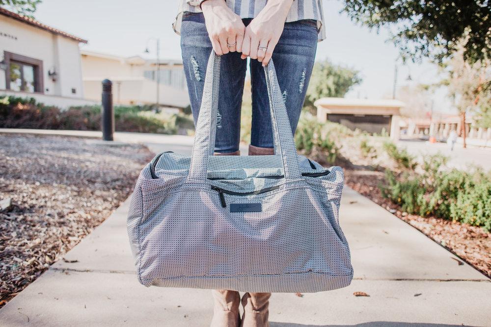 Trendy Diaper Bags | Ju-Ju-Be Black Matrix Starlet -- Mommy Blog - The Overwhelmed Mommy