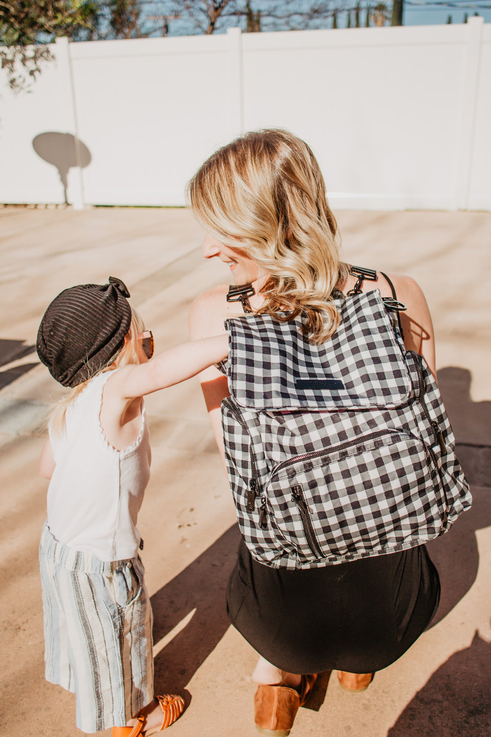 Trendy Diaper Bag Backpacks - Ju-Ju-Be Gingham Style Be Sporty -- Mommy Blog - The Overwhelmed Mommy