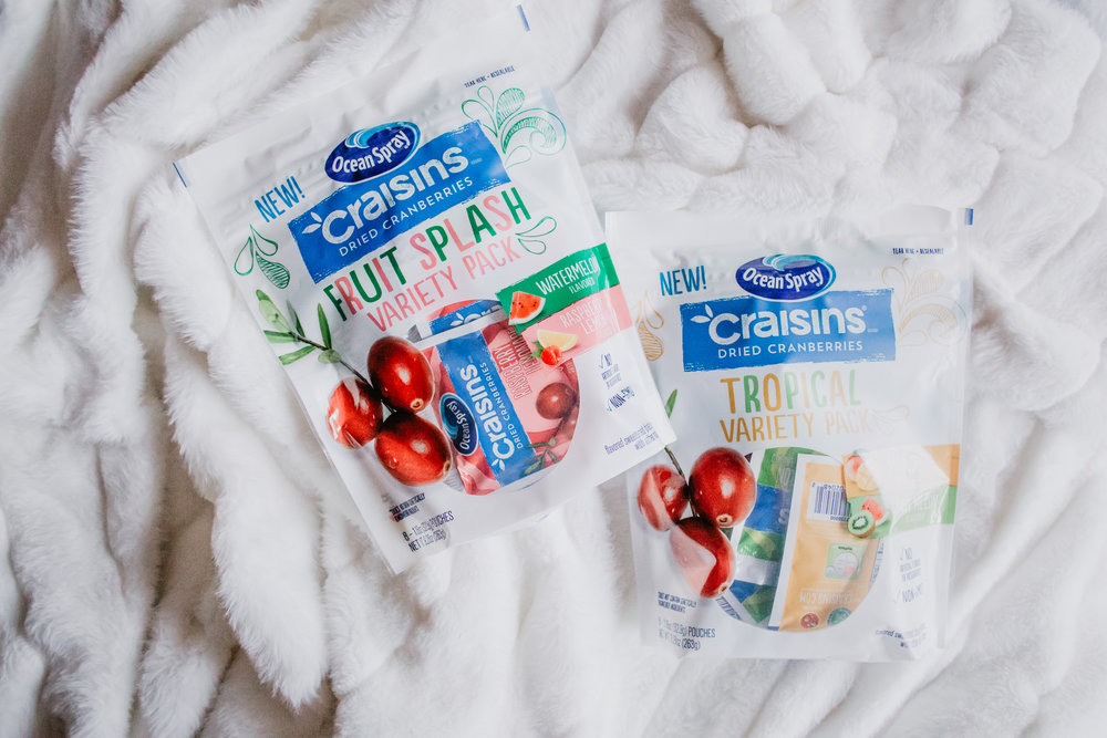 How to get kids to eat fruits and veggies - Healthy Kids Snack Foods - Craisins -- The Overwhelmed Mommy