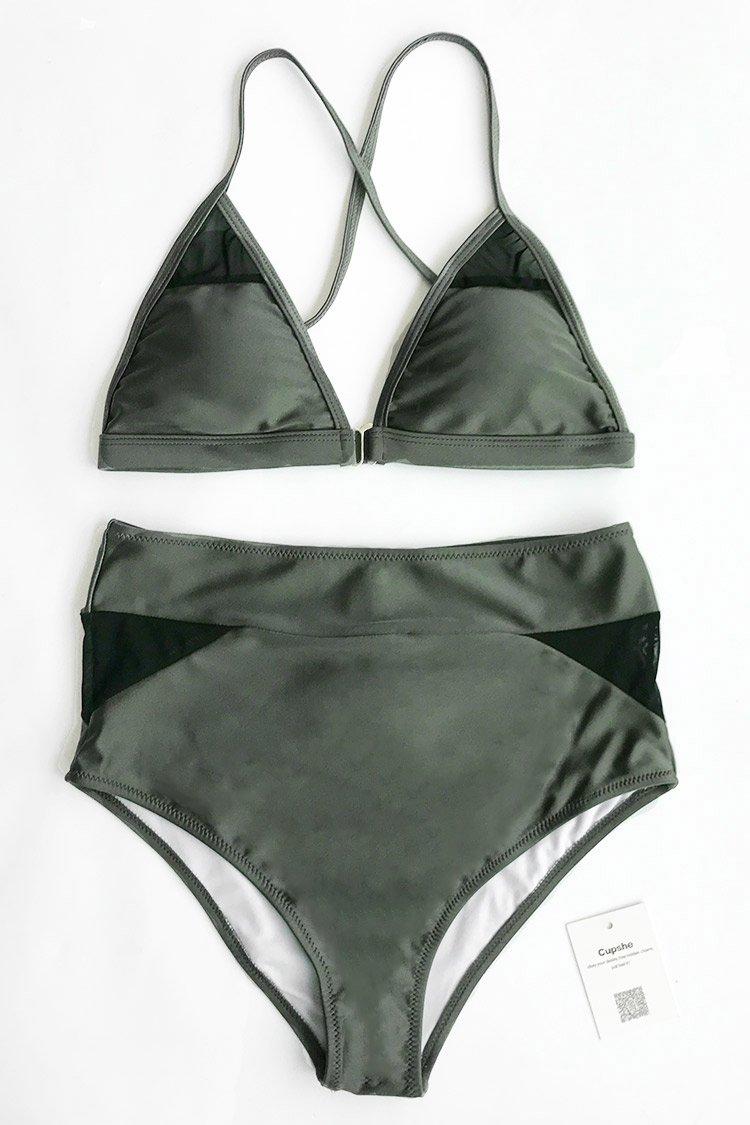 High Waisted Bikini-Swimsuit -- Mommy Blogger - The Overwhelmed Mommy
