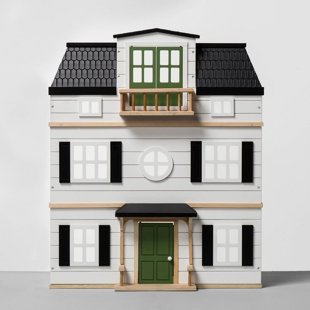 Cute Wooden Dollhouses - Magnolia Hearth & Home Dollhouse -- The Overwhelmed Mommy Blogger