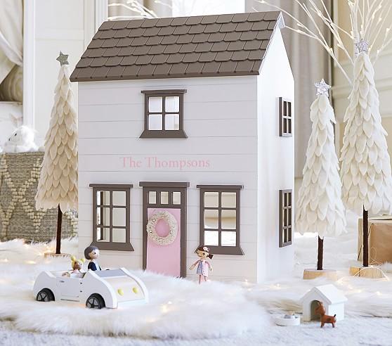 Cute Wooden Dollhouses Pottery Barn Kids -- The Overwhelmed Mommy Blogger