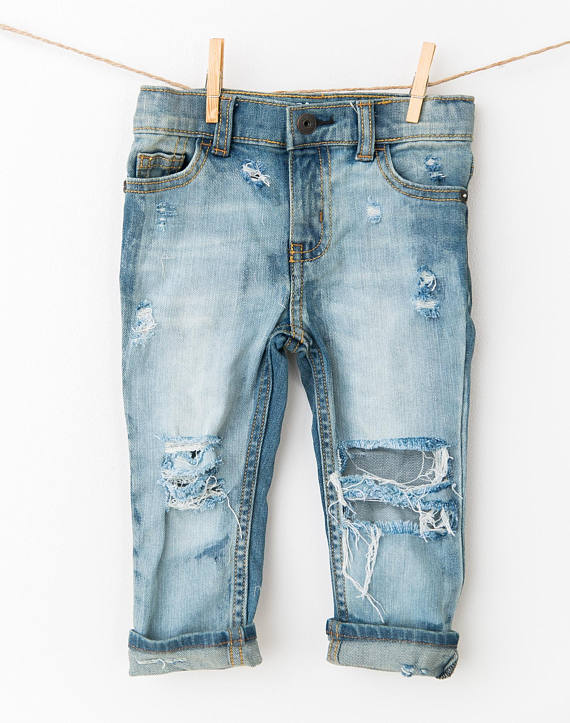Baby Kids Ripped Jeans Distressed Denim 1.jpg