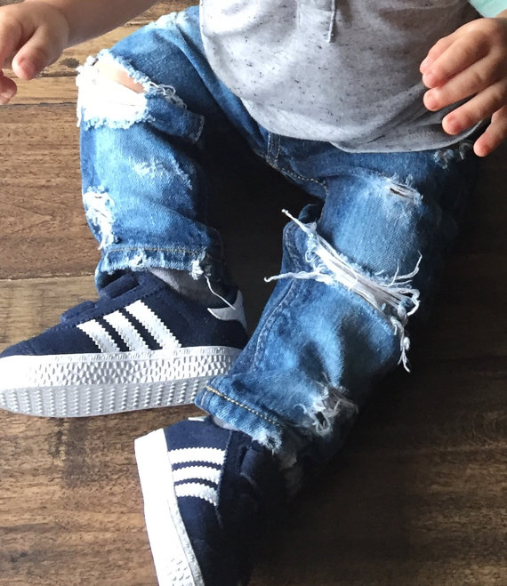 Baby Kids Ripped Jeans Distressed Denim 7.jpg