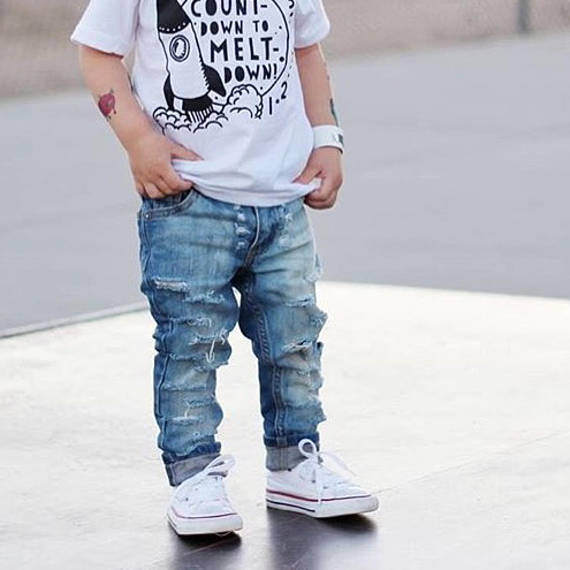 Baby Kids Ripped Jeans Distressed Denim 8.jpg