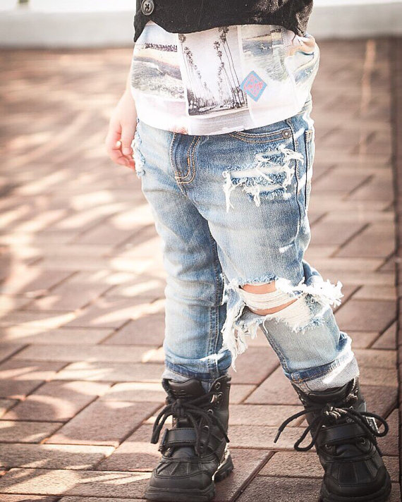 Baby Kids Ripped Jeans Distressed Denim 20.jpg