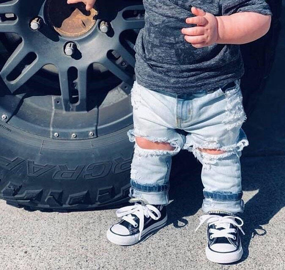 Baby Kids Ripped Jeans Distressed Denim 23.jpg