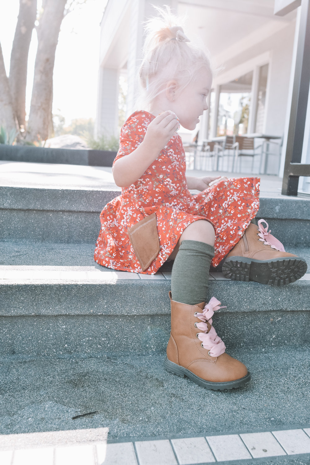 Cute Baby Combat Boots -- The Overwhelmed Mommy Blogger