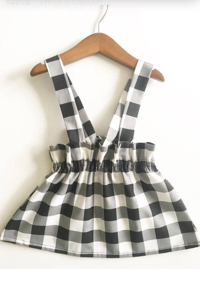 Baby Kids Suspender Skirts - The Overwhelmed Mommy Blogger